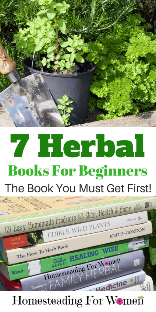 7 Herbal Books For Beginners