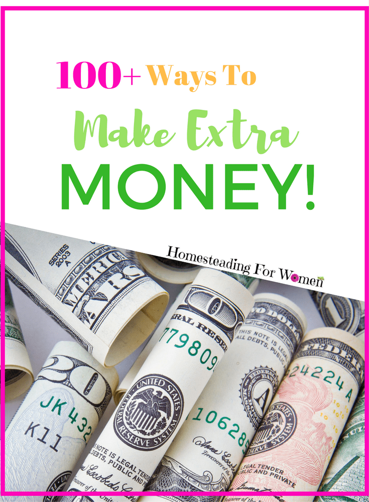 100+ Ways to make extra money