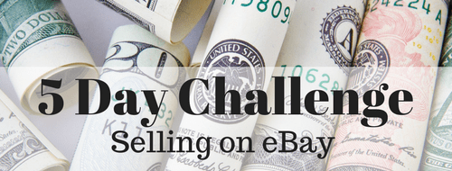 5 Day Challenge Selling on Ebay