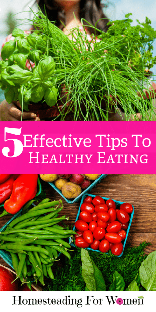5 Effective Tips To Healthy Eating