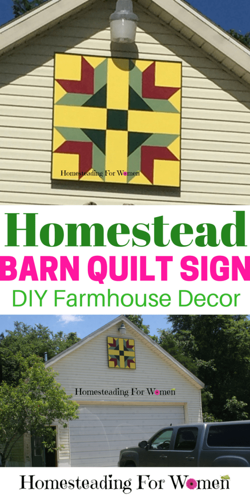 Homestead Barn Quilt Sign