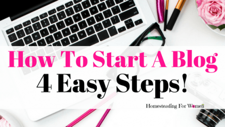 How To STart a Blog 4 Easy Steps (2)
