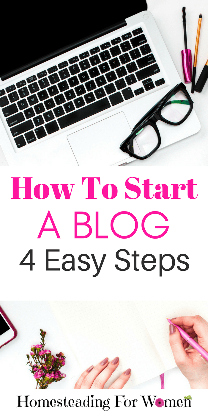 How To Start A Blog 4 Easy Steps (1)