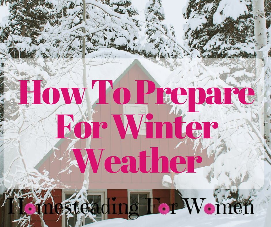 How To prepare for winter weather