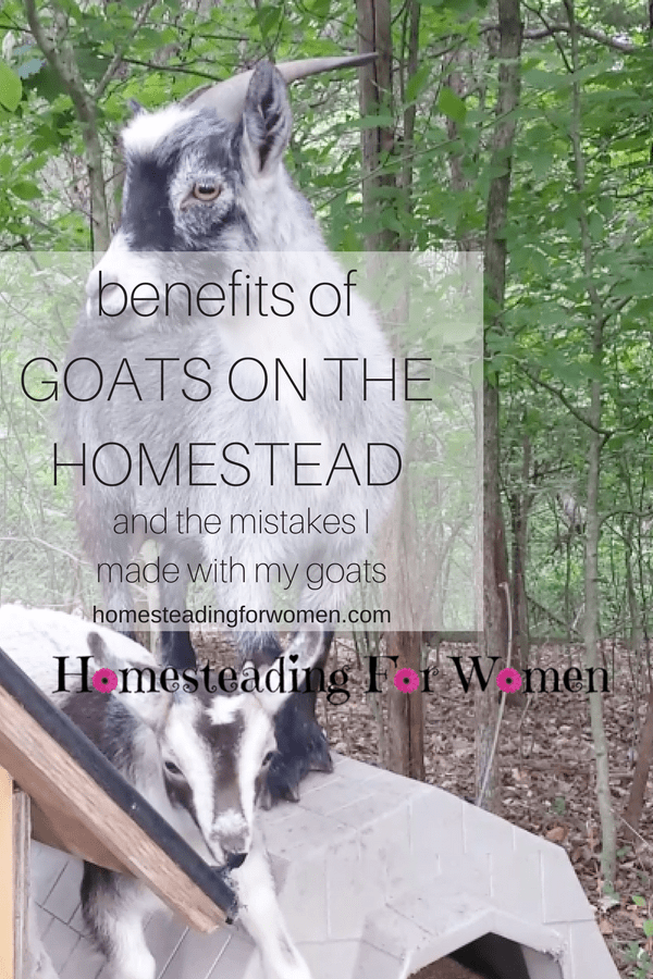 benefits of GOATS