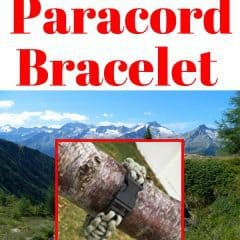 Make your own paracord bracelet for homestead