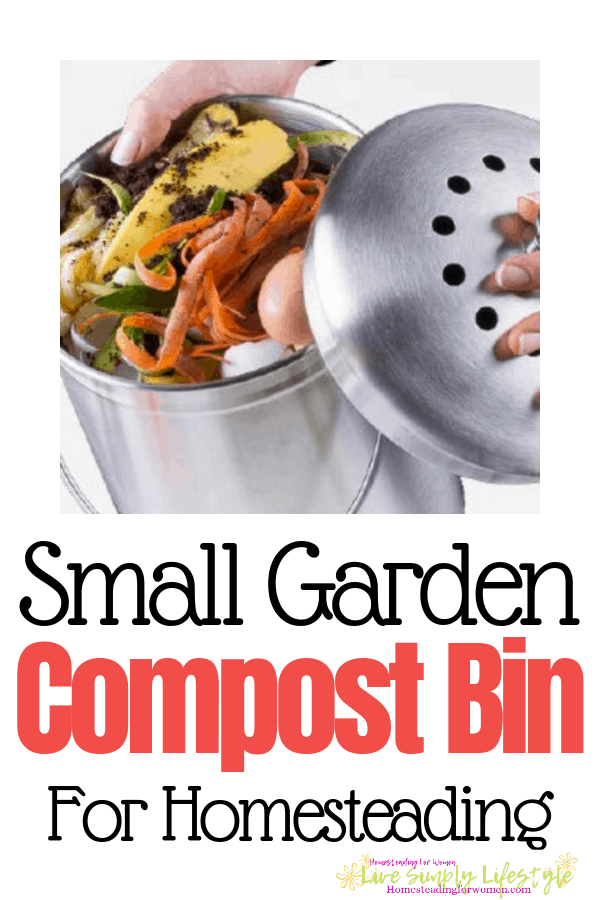 Small Garden Compost Bin For Homesteading