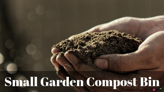 Small Garden Compost Bin For Your Homestead