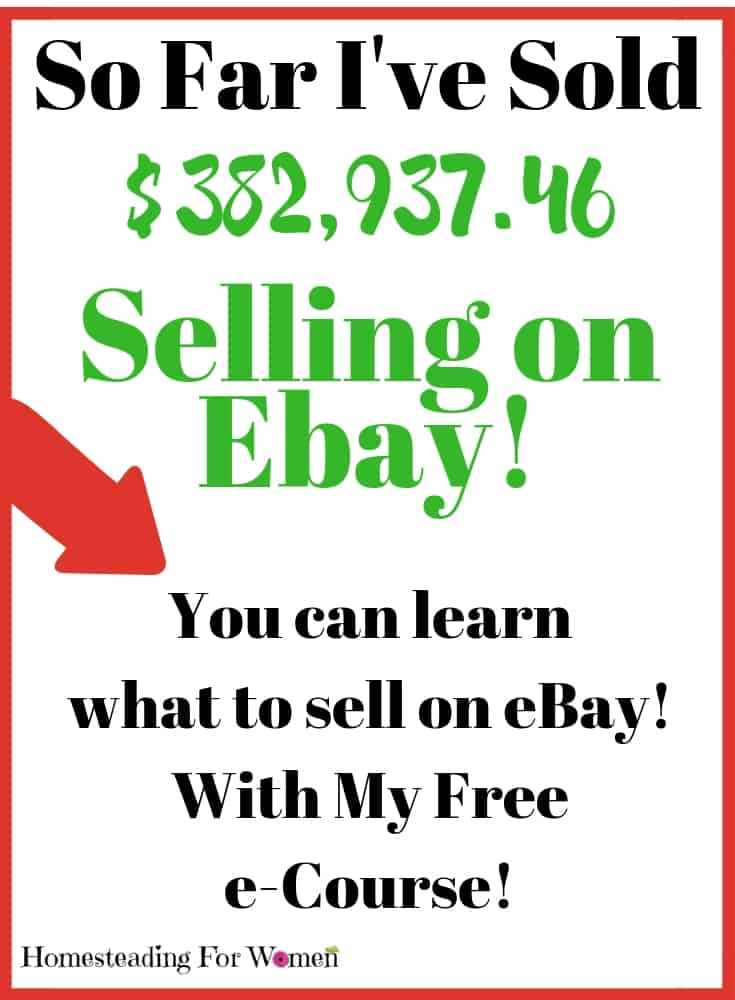 Things to sell on ebay to make money