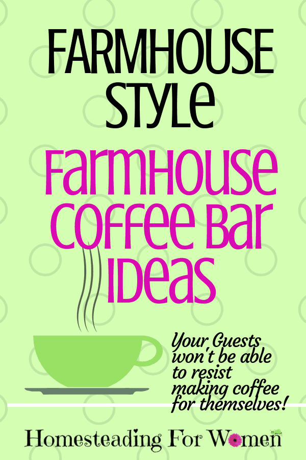 Farmhouse Coffee Bar Ideas-min