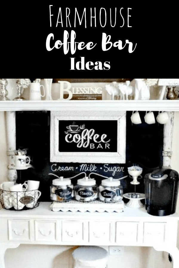 Farmhouse coffee Bar Ideas (1)-min