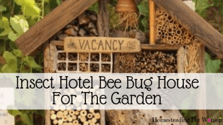 Insect hotel bee bug house for the garden-min