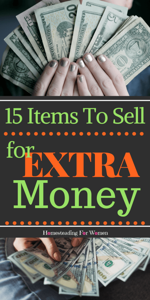 15 Items To Sell For Extra Money Fast-min