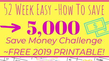 52 Week Easy Save Money Challenge Printable 2019 (2)-min