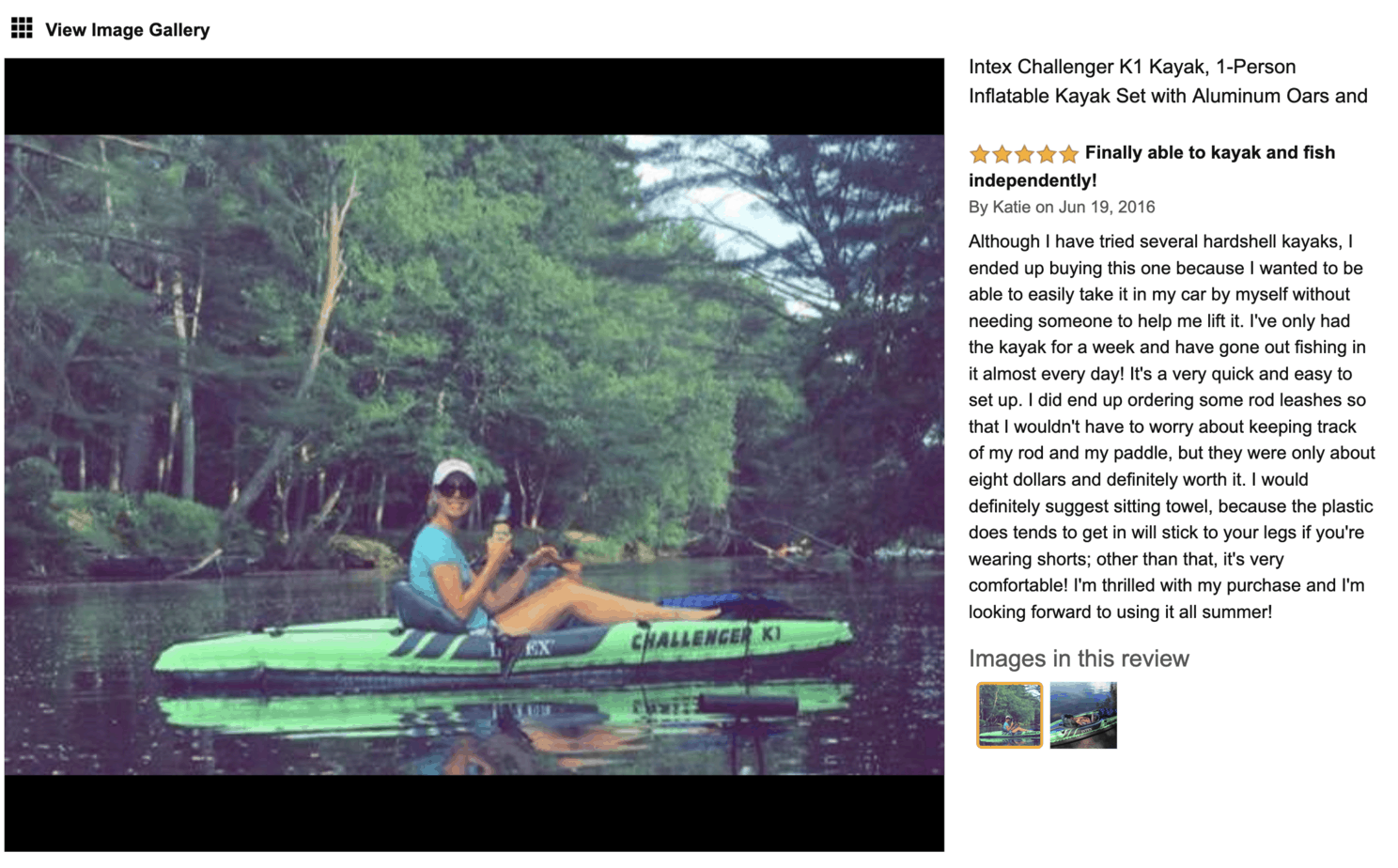 Fun Kayak for women