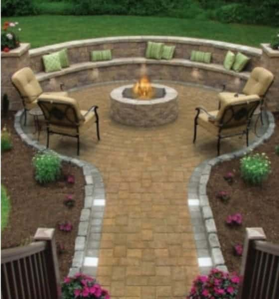 fire pit outdoor ideas