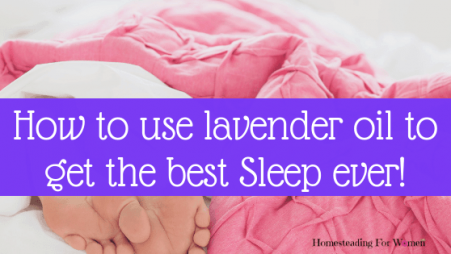 Where do you put Lavender oil for sleep