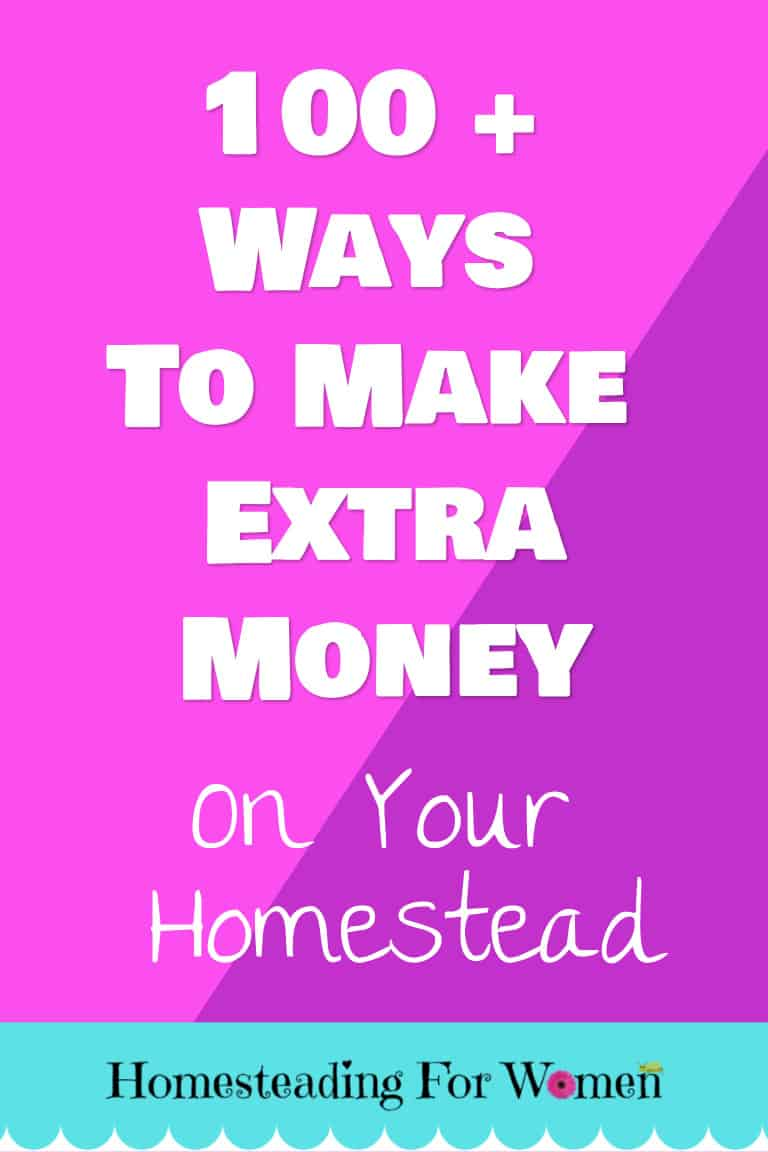 100 + Ways To Make Extra Money On Your Homestead