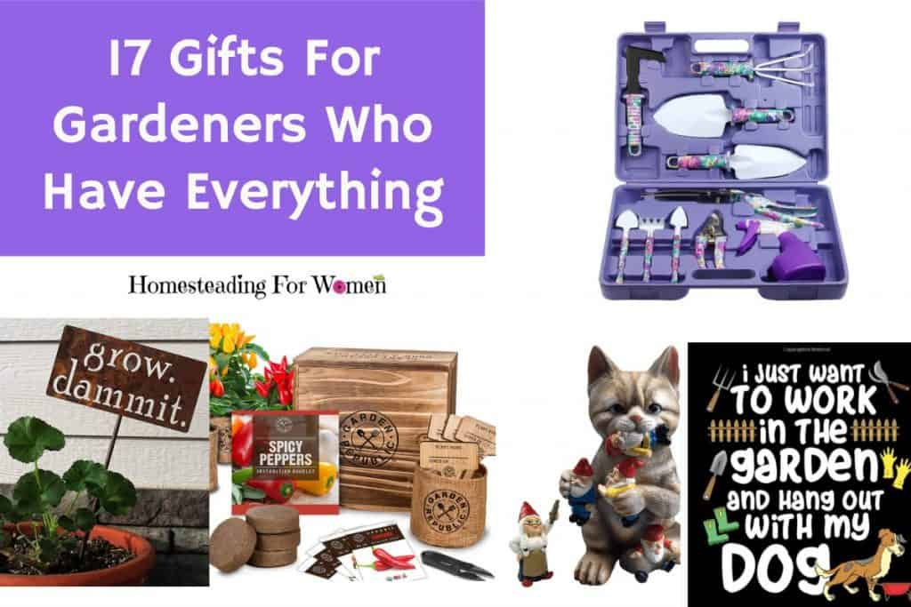 17 Gifts for Garderners who love gardening