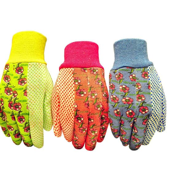 Pretty Jersey Garden Gloves to the gardener who has everything