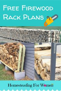 free Fireswood Rack plans