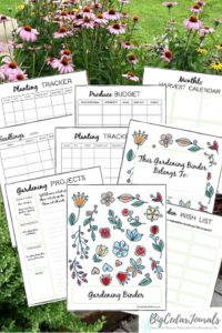 January Garden To Do List Printable Gardening Binder