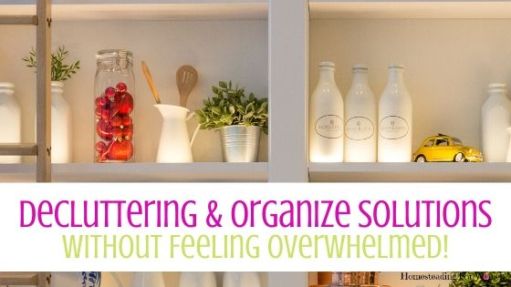 Decluttering and Organize Storage Solutions Without Feeling Overwhelmed