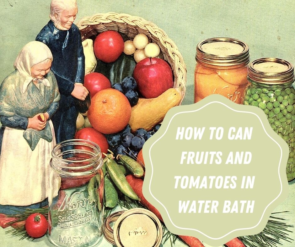 How To Can Tomatoes In Water Bath
