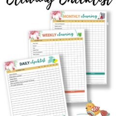 Free Daily Cleaning Checklist